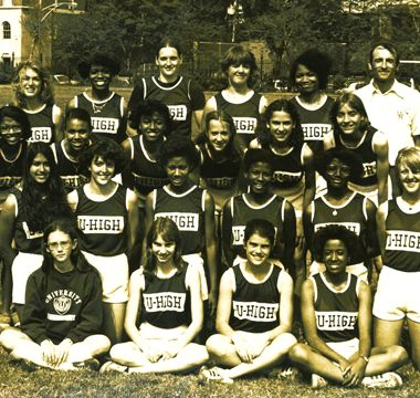 Girls Track and Field Team Members, 1979–1981