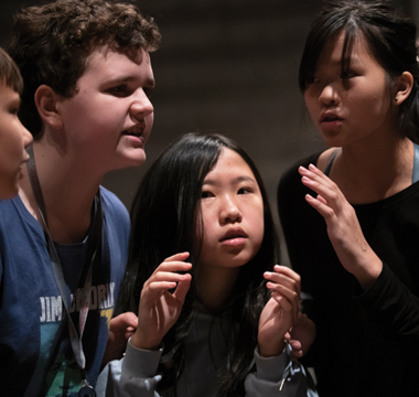 Lab teacher adapts Chasing Vermeer for stage; best-selling author to see Middle Schoolers perform a staging of her novel