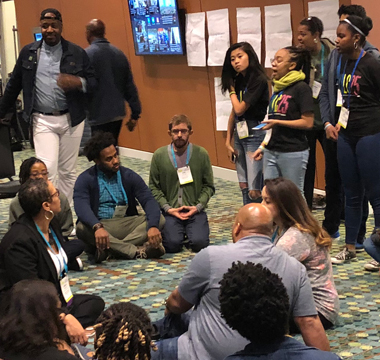 Lab doubles the learners at NAIS People of Color Conference