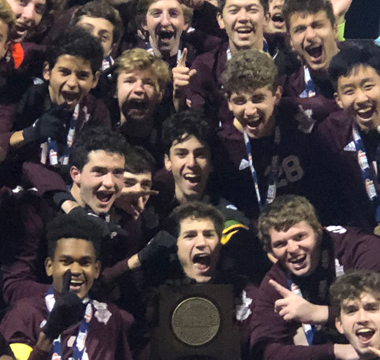 Boys Soccer Wins State Championship